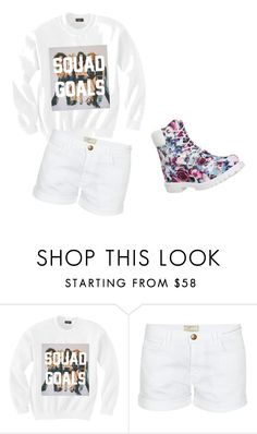 """""""Untitled #11"""" by amber-lee1995 ❤ liked on Polyvore featuring Current/Elliott and Timberland"""