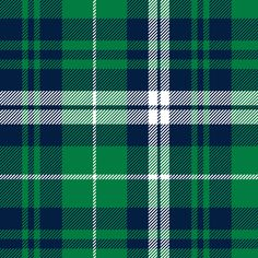 fall plaid - navy and green - wholecloth plaid coordinate fabric by littlearrowdesign on Spoonflower - custom fabric
