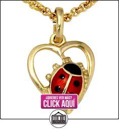 Colgante 333 / - G Escarabajo * hermoso regalo de Navidad* Las joyas de Acero Oro, colgante  ✿ Joyas para niñas - Regalos ✿ ▬► Ver oferta: https://comprar.io/goto/B00AD7L248