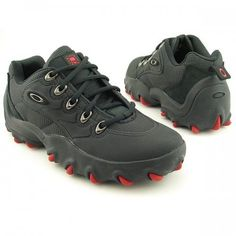 OAKLEY Teeth Low Sneakers Shoes Black Mens