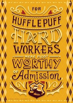 hufflepuff, harry potter, and yellow image More