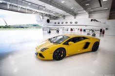 Private jet & Lamborghini travel life