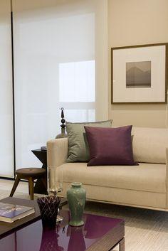 Verde + Beringela Decoração de Interiores em Apartamento Perdizes - Decoradora Marilia Veiga