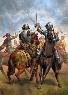 Spanish and Dutch cavalry