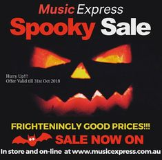 Music X, Music Express, Halloween Sale, Music Store, Musical Instruments, October, Amazing, Music Instruments