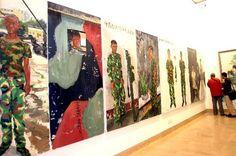 liu xiaodong artist   Liu Xiaodong's Battlefield Realism: The 18 Arhats