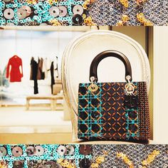 #LadyDior and sequined #pattern #ceciliadefano #ceciliadefanoboutique Ph. And Editing: @alessiarux
