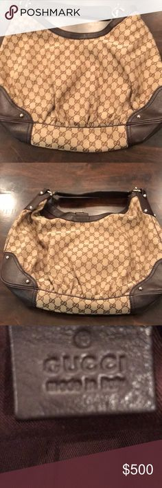 Gucci Jockey hobo xl bag Used in good condition Gucci very large bag Gucci Bags Shoulder Bags