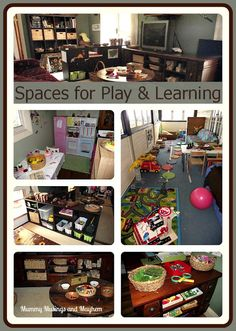 Setting up Playspaces within your Home for Family  Daycare - without the space of a separate playroom by Mummy Musings and Mayhem