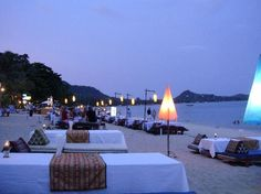 Lamai beach Ko Samui, Lamai Beach Koh Samui, Thailand, Places Of Interest, Places To See, Beaches, Around The Worlds, Table Decorations, Travel