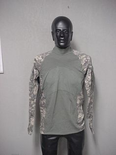 USGI ACU ARMY COMBAT SHIRT ACS MASSIF, X-LARGE , NEW WITH TAGS #MASSIF