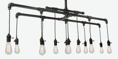 pendelleuchten glühbirnen industrial