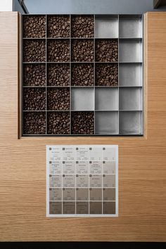 _ Yosuke Hayashi from studio designed KOFFEE MAMEYA which is located in Omotesando, Tokyo. Coffee Logo, Coffee Branding, Coffee Art, Cafe Interior, Shop Interior Design, Cafe Design, Japan Design, Coffee Island, Coffee Display