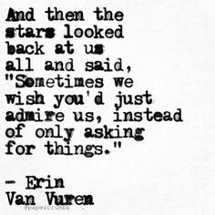 L〰Erin Van Vuren — Appreciation on another level…...