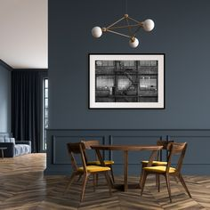 home design dream Living Room Paint, Living Room Decor, Bedroom Decor, Dining Room, Earth And Space, Casa Milano, Modern Industrial Decor, Casa Loft, Mid Century Modern Living Room