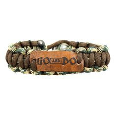 Great idea for a boy LDS Christmas stocking stuffer- Go and Do Paracord Survival Band in Bracelets | LDSBookstore.com (affiliate)