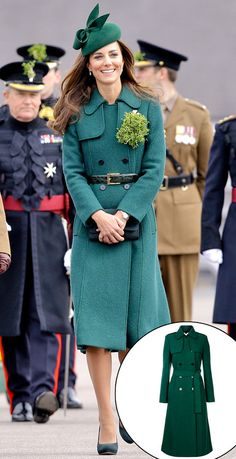 Kate Middleton's pitch-perfect St. Paddy's Day ensemble has us green with envy!