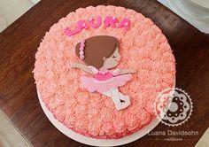 Resultado de imagem para bolo bailarina simples