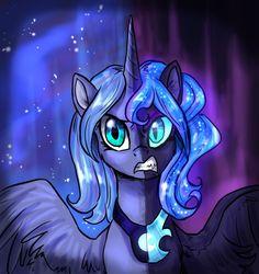 Two Face Luna by StellarWay on DeviantArt