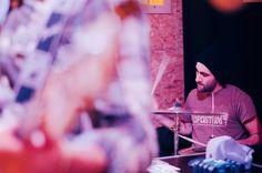 Matteo Canali, Mr Kite - Birrificio milanese: La Ribalta (MI). Fotografie di Chiara Arrigoni del gruppo musicale italiano dream pop Mr Kite #mrkite #laribalta #rock #music #drum #drummer #batterista