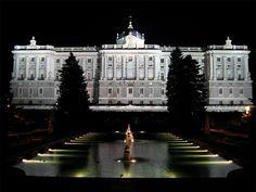 Sabatini Gardens and Royal Palace. Madrid.
