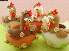 Cute hens.