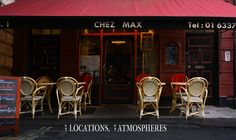 My fave Dublin lunch spot; Chez max, hiden away down palace street, off dame street by the gates of dublin castle