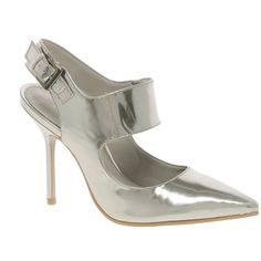 Amanda would love these. Kg Emily Pointed Slingback Heeled Shoes