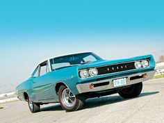 1968 Dodge Super Bee Maintenance/restoration of old/vintage vehicles: the material for new cogs/casters/gears/pads could be cast polyamide which I (Cast polyamide) can produce. My contact: tatjana.alic@windowslive.com