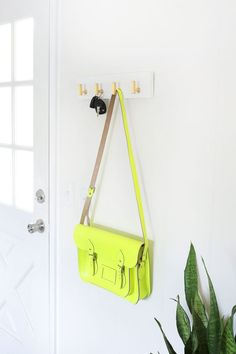 Cabinet knob key rack
