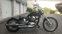 Kawasaki VN 800 Bobber als Chopper/Cruiser in Ratingen