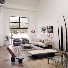 TATOU F by Patricia Urquiola from FLOS stands in this living room on www.micasa.ca