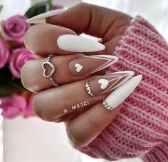 Chic Nails, Glam Nails, Classy Nails, Stylish Nails, Trendy Nails, Best Acrylic Nails, Acrylic Nail Designs, Camouflage Nails, Romantic Nails