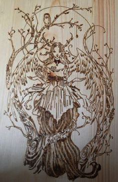 Moon Maiden Wood Crafts, Moon, Art, The Moon, Kunst, Woodworking Crafts, Wood Creations, Art Education, Artworks