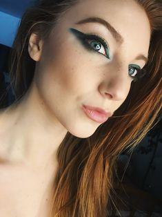 Ombré winged eyeliner  MUA @makeuplushair