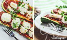 Gefüllte Zucchini mit Ziegenkäse