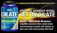 DILATE - NITRIC OXIDE MAXIMIZER  Stimulant Free Performance Enhancement