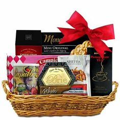 A tower full o snacks gourmet gift basket check this awesome how sweet it is sugar free gift basket httpmygourmetgifts negle Image collections