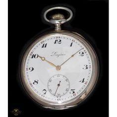 846cbef7c Antiguo reloj de bolsillo Longines de origen suizo y funcionando de los  años 1900.