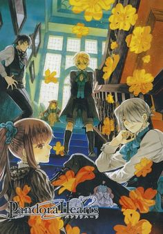 Tags: Pandora Hearts, Gilbert Nightray, Xerxes Break, Mochizuki Jun, Aristocrat, Oz Vessalius