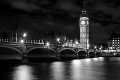 Westminster Bridge @ B&W