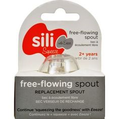 Sili Squeeze Nipple Spout Replacement Original With Eeeze 1 Count