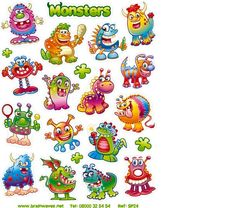 17 mixed designs     Sticker sheet size: 125mm x 165mm     340 stickers per pack     Ref: SP24  Price     £11.25 FREE UK DELIVERY     (£9.38 ex VAT)