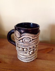 coil mug by Laurie B, via Flickr
