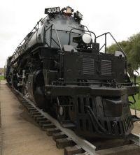 Union Pacific 4000 Class Big Boy Steam locomotive weighs 1,250,000 lbs. Insane   Cheyenne, Wyoming
