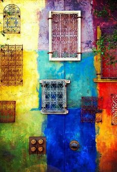 'Rainbow Colors' I like vivid colours of he subject matter and the use of boxes to separate the colours World Of Color, Color Of Life, Jolie Photo, Over The Rainbow, Rainbow Colors, All The Colors, Bright Colors, Color Splash, Color Inspiration