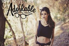 LeeAnna Vamp modeling the Midnight Pixie Crop Tank (Clothes by AdorkableApparel) #AdorkableApparel #PeterPan