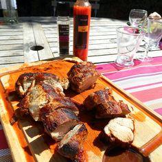 Recette de Filets mignon de porc à la plancha Huile du soleil et Vinaigre du soleil