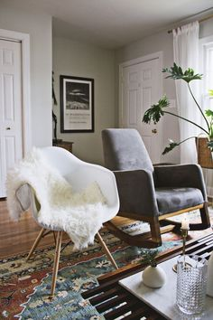 rustic scandinavian living room - Google Search