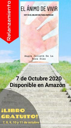 """RELANZAMIENTO """"EL ÁNIMO DE VIVIR"""" - 7 DE OCTUBRE 2020 ¡DESCARGALO GRACIAS! El 7, 8, 9, 10 y 11 de octubre. Chart, October, Live, Thanks, Get Well Soon"""